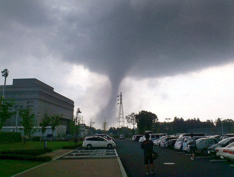 Торнадо у Јапану