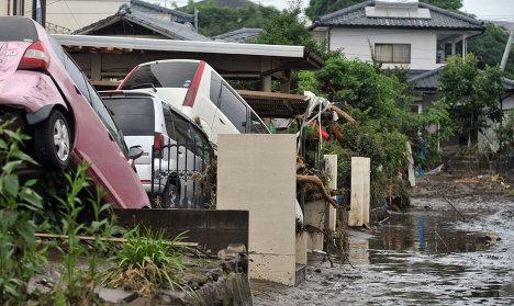 Поплаве у Јапану