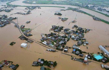Последице поплава у Јапану