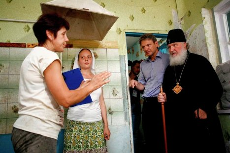 Патријарх Кирил у Кримску