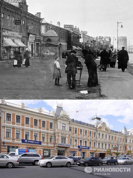 Изглед Москве после века