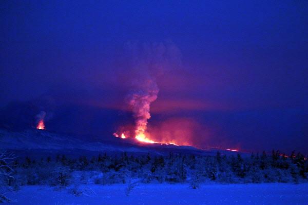 Ерупција на Камчатки
