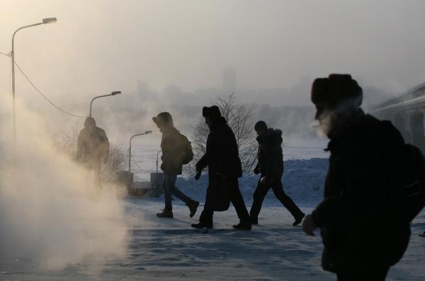 У Сибиру до -48C