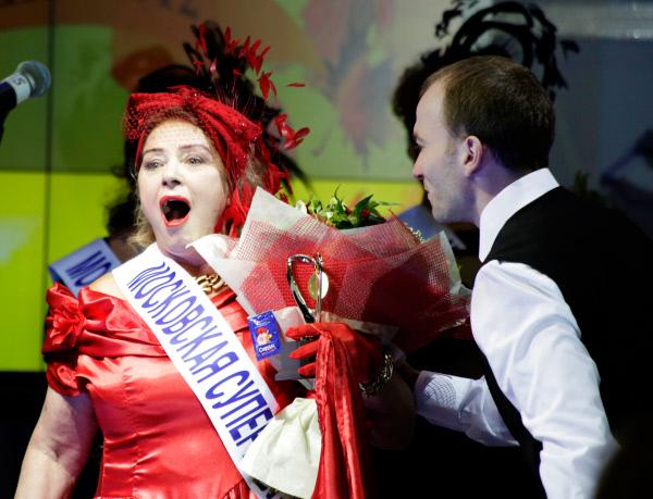 Супер бака Москве 2012