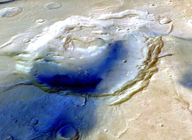 Вулкани на Марсу и Земљи