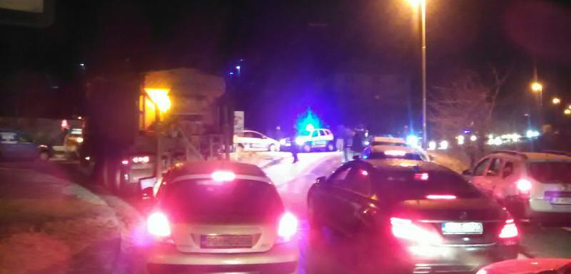Грађани покушали блокаду пута Беране - Бијело Поље, полиција употријебила сузавац