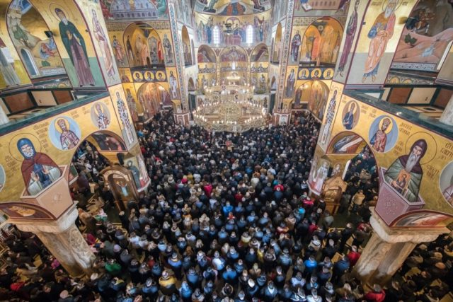 Молитвена шетња кроз Подгорицу