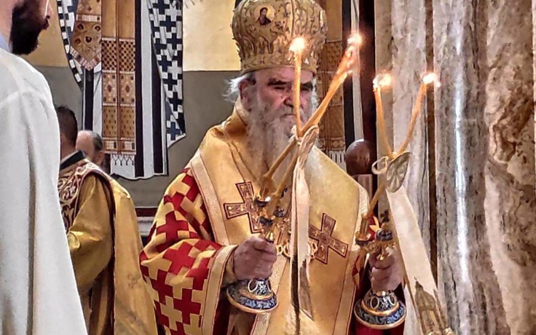 Митрополит Амфилохије: Христовим рођењем и наше рођење добија вјечни и непролазни смисао