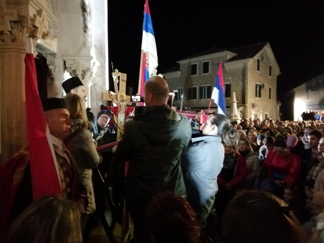 Отац Предраг Шћепановић у Херцег Новом: Хвала вам за достојанство и постојанство