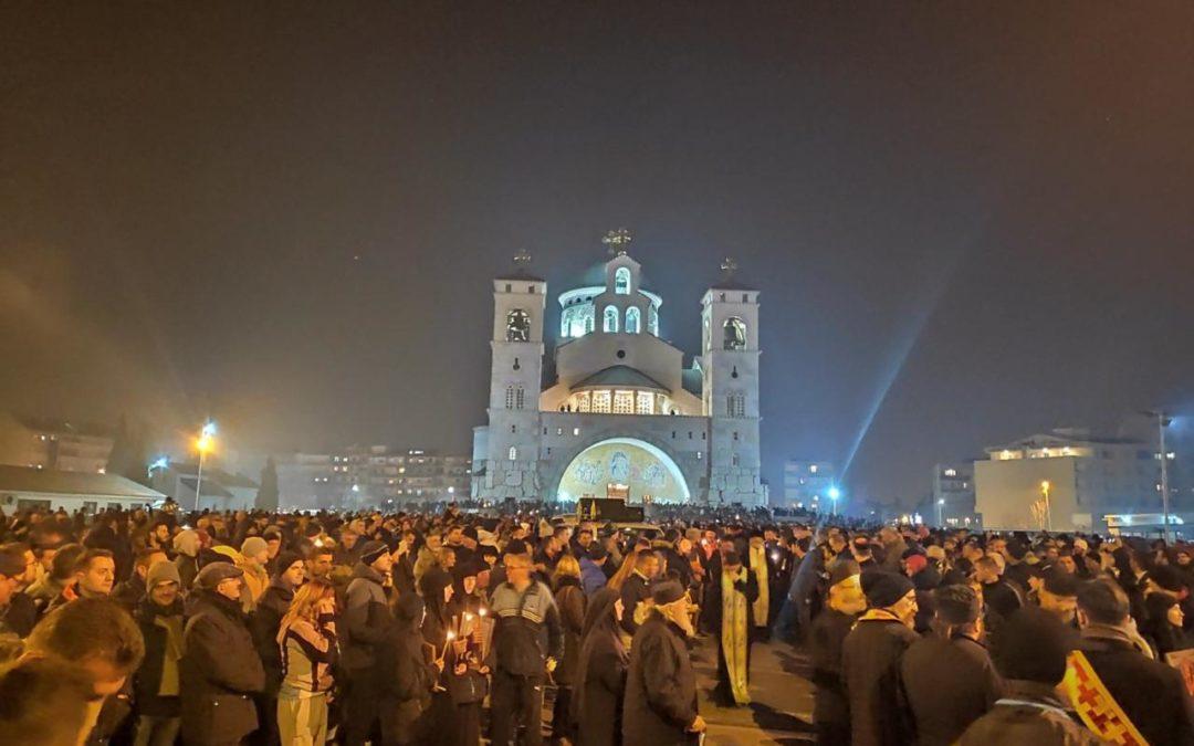 Митрополија: Истинска Црна Гора 3. јануара 2020. године увече…