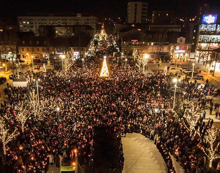 Епископ Јоаникије у Никшићу: Тражимо слободу вјере и право на опстанак
