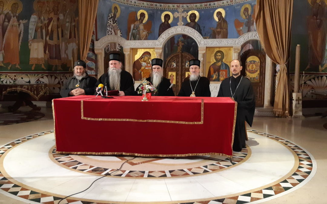 Саопштење Епископског савјета Српске Православне цркве у Црној Гори