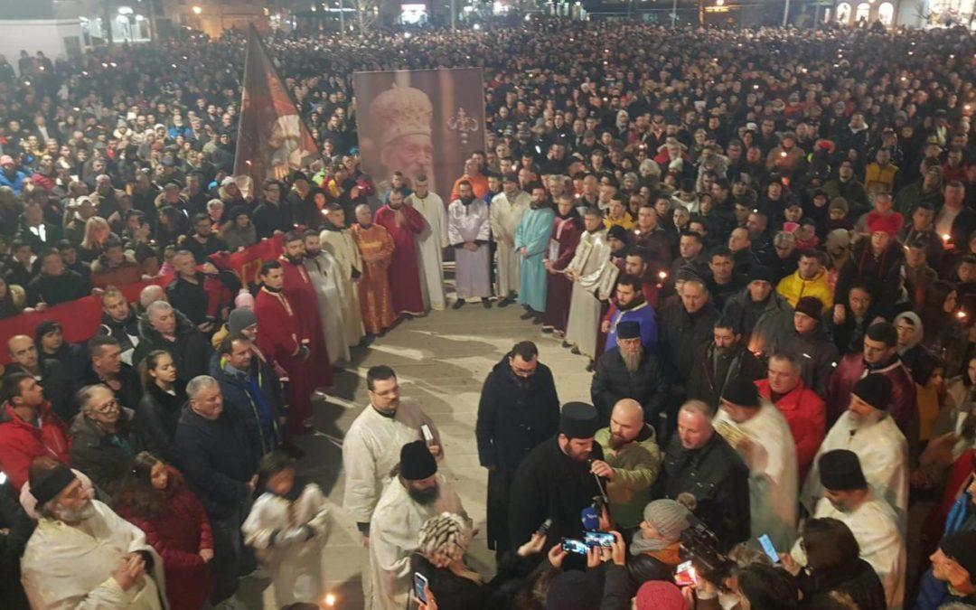 Митрополија: Истинска Црна Гора 18. јануара увече - Никшић, Улцињ, Шудикова, Вирпазар…