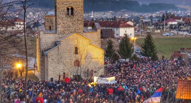 Молебани и литије широм Црне Горе