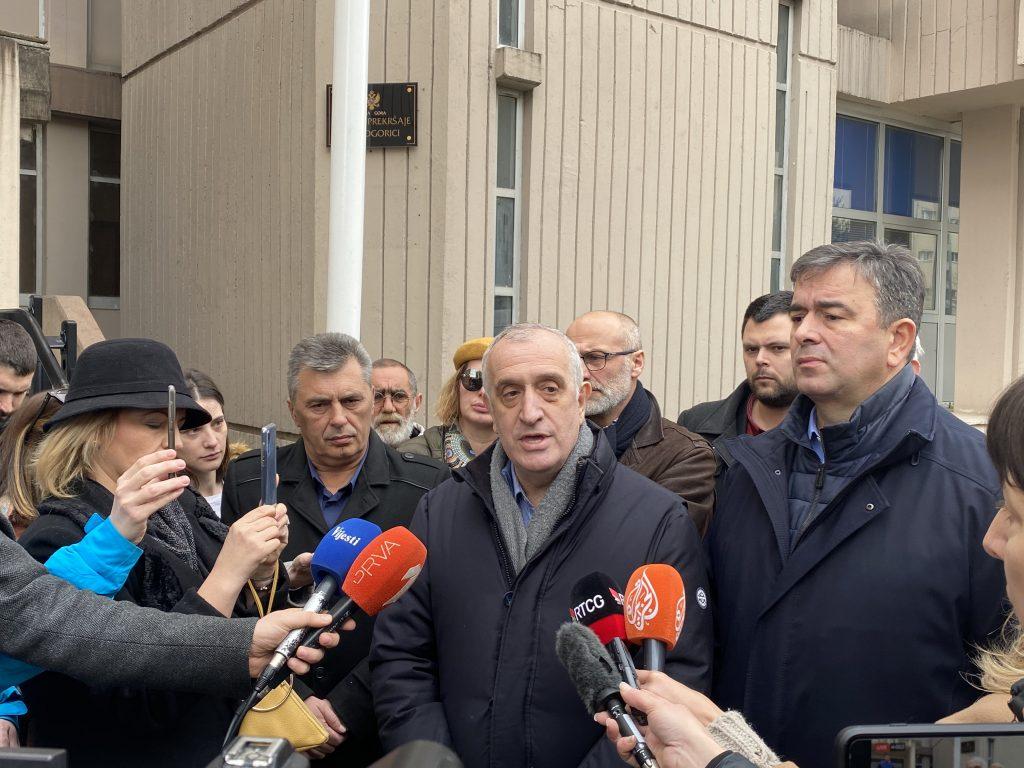 ДФ: Црна Гора клизи у диктатуру и терор