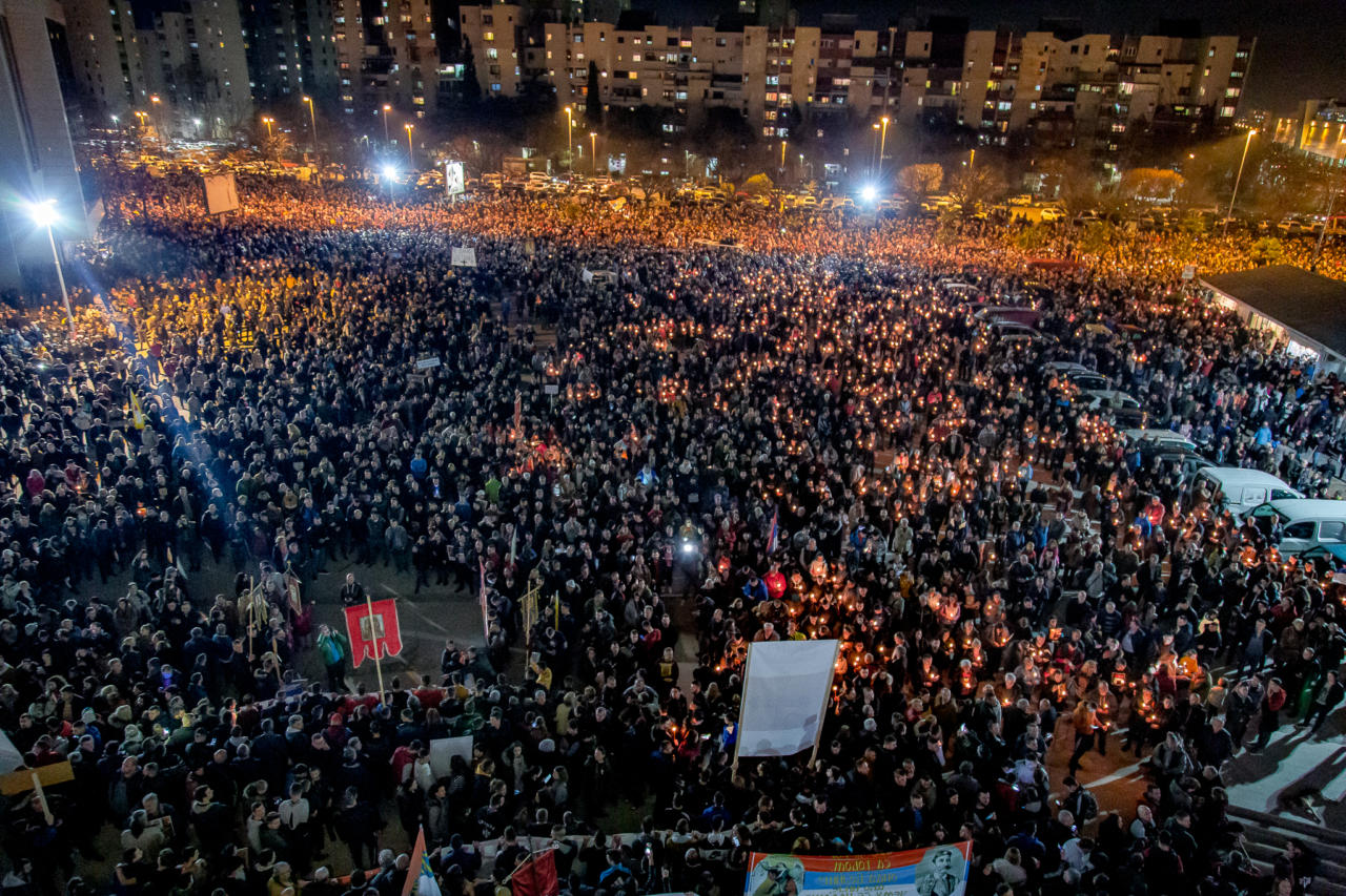Епископски савјет: Молитвена и протестна окупљања ће се без изузетка наставити