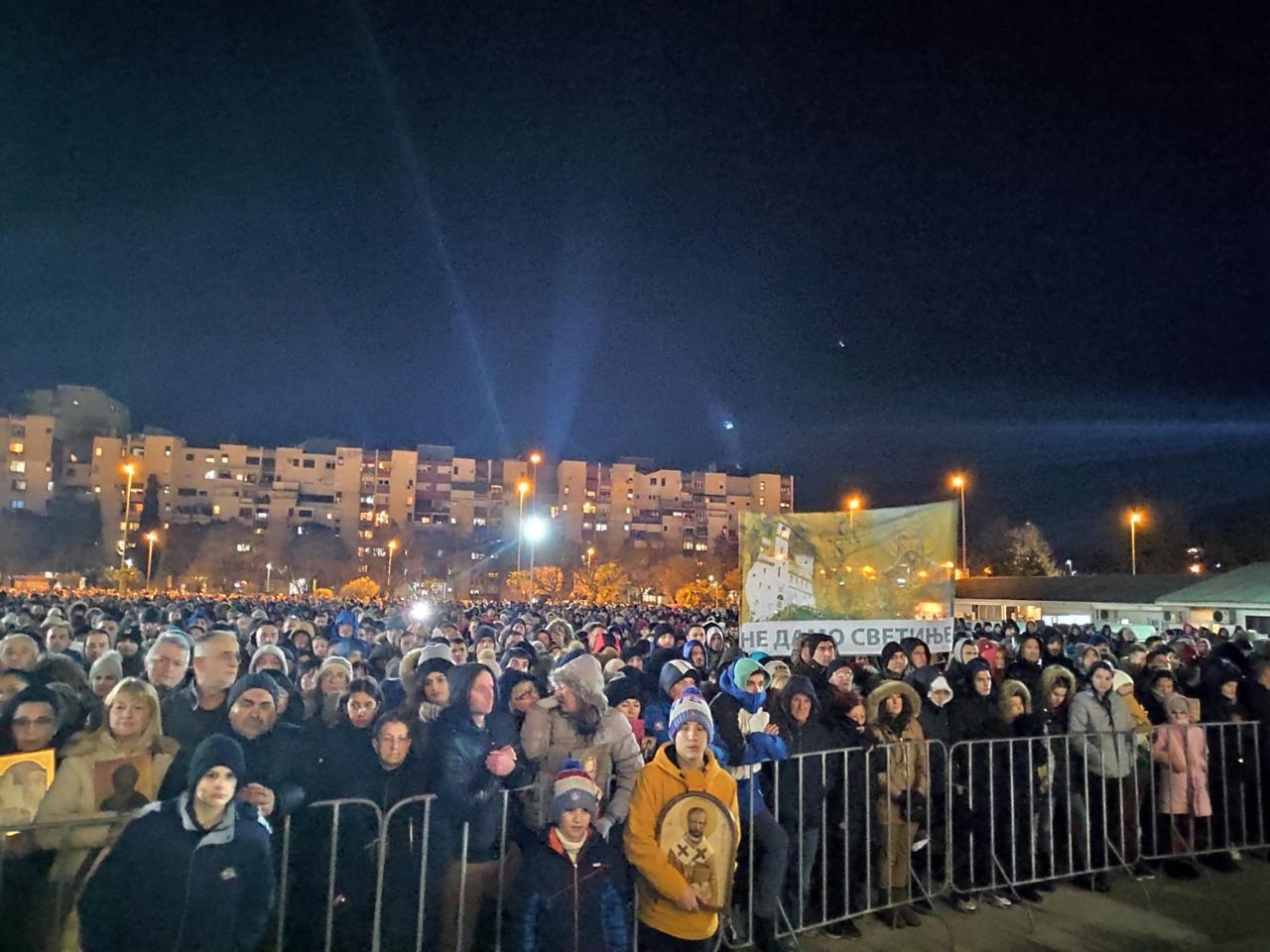 Mitropolit Amfilohije: Nijesu oni Crna Gora, Crna Gora je ovaj narod