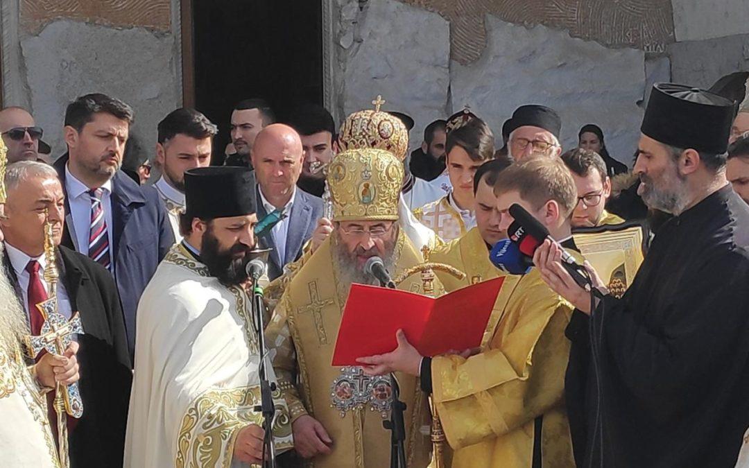 Митрополит кијевски Онуфрије: Молимо се да у Црној Гори и Украјини престане са гоњењем Цркве