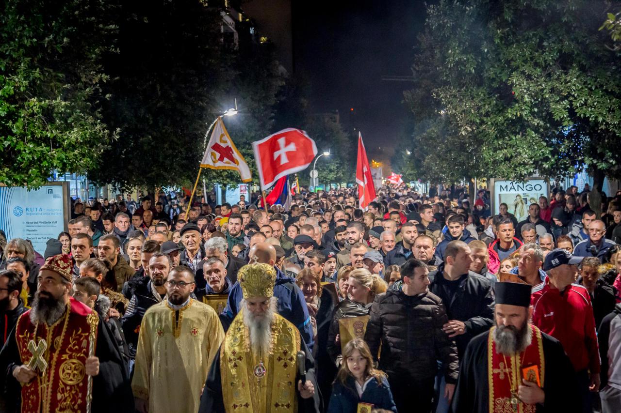 Митрополит Амфилохије: Народ који се сабира на литијама је изворни народ Црне Горе који наставља дјело својих предака и чува оне светиње које су му преци оставили