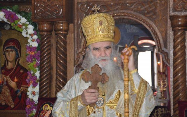 У Подгорици приведен митрополит Амфилохије