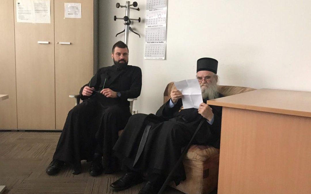 Полиција Црне Горе ће записник о испитивању митрополита Амфилохија доставити Тужилаштву
