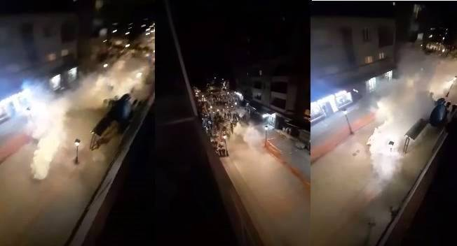 Полиција сузавцем и шок бомбама на грађане, нова хапшења у Никшићу