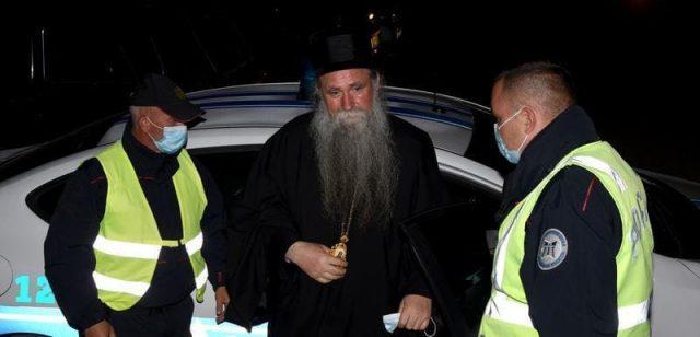Епископу Јоаникију и свештеницима укинуто задржавање