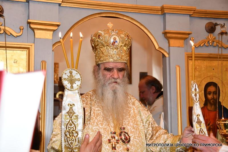 Митрополит Амфилохије: Дај Боже да се наши властодршци врате кирило-методијевском предању