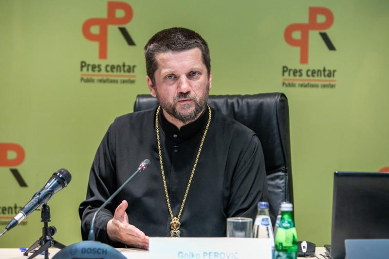 Отац Гојко Перовић: Власт хтјела да прича о уређењу Цркве, дата непристојна понуда