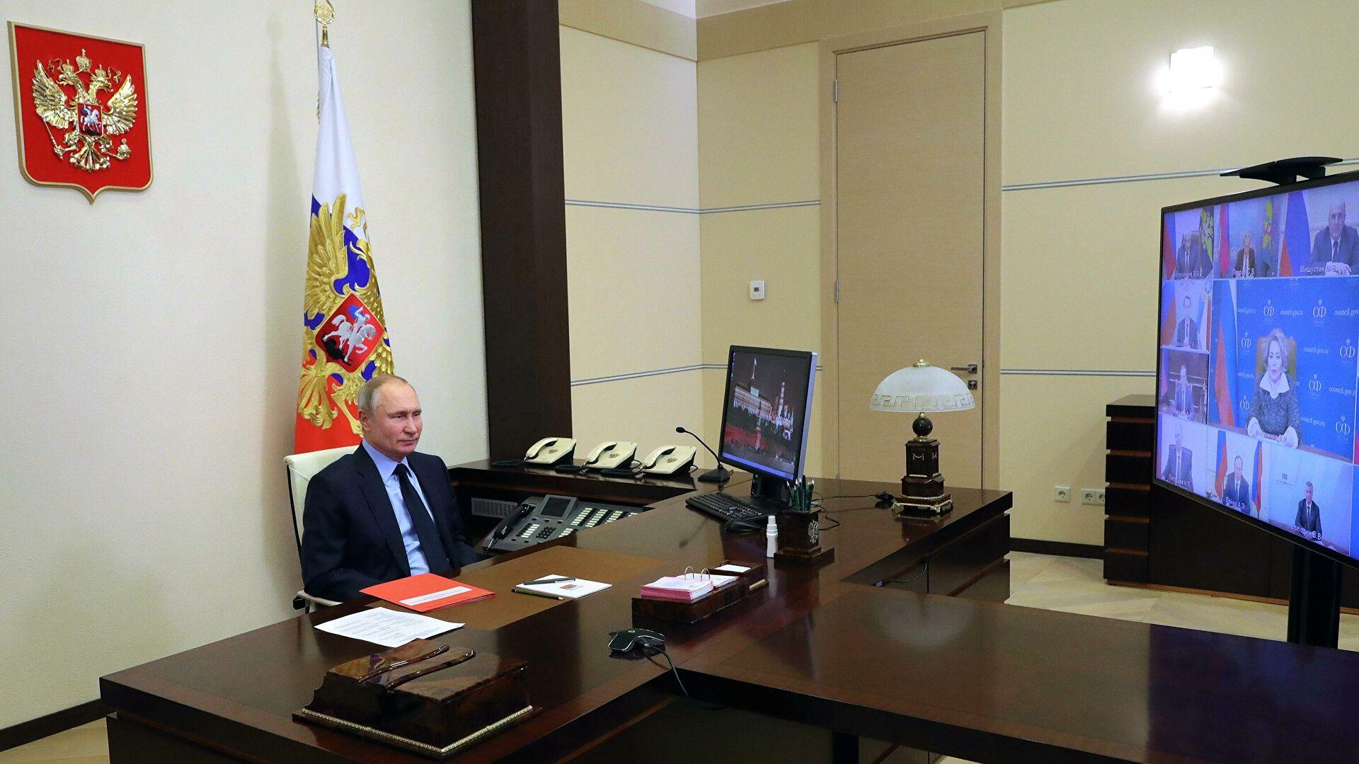 Путин са члановима Савета безбедности Русије разговарао о стратешкој стабилности