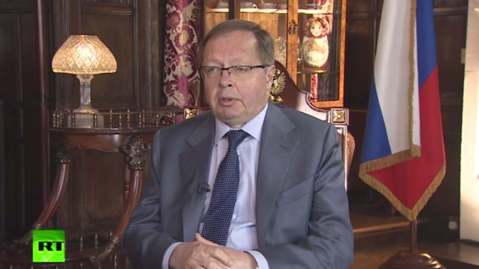 """РТ: """"Забрињавајући тренд"""": Лондон настоји да Москву изузме из европског система безбедности - руски амбасадор"""