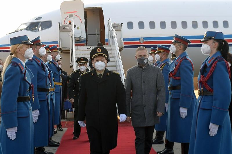 Министар одбране НР Кине генерал Фенгхе у посети Србији