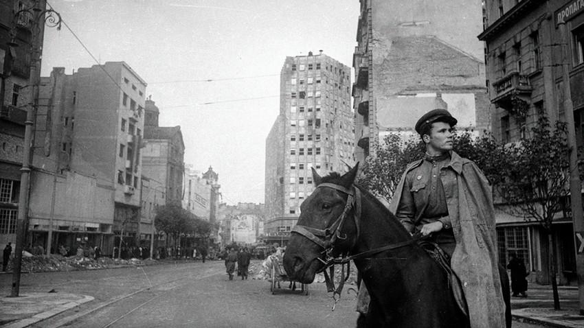 Ослобођени Београд у објективу совјетских фотографа