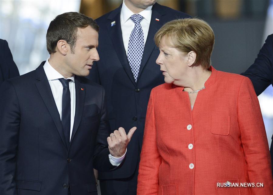 Ривалство Макрона и Меркелове о вођству у Европи