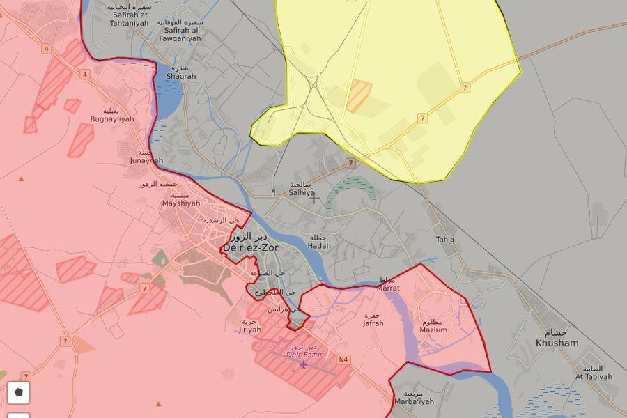 Раскрсница у Деир ез Зору: Крај ИД и почетак рата за Курдистан