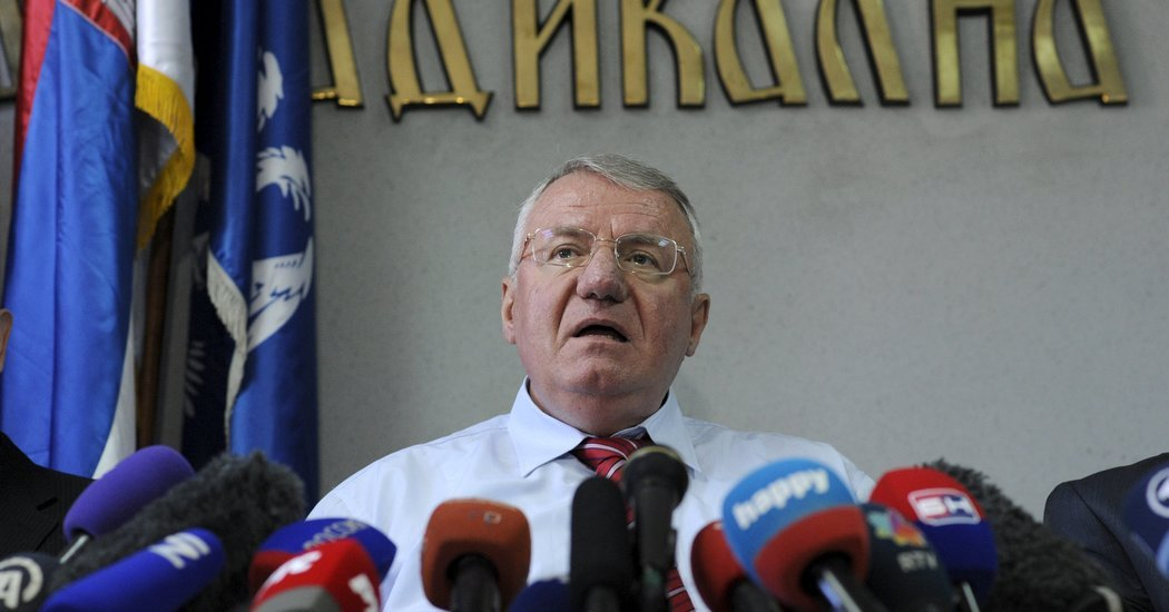 Шешељ о посети Агијуса: Завршница политике уцењивања, потцењивања и понижавања Србије