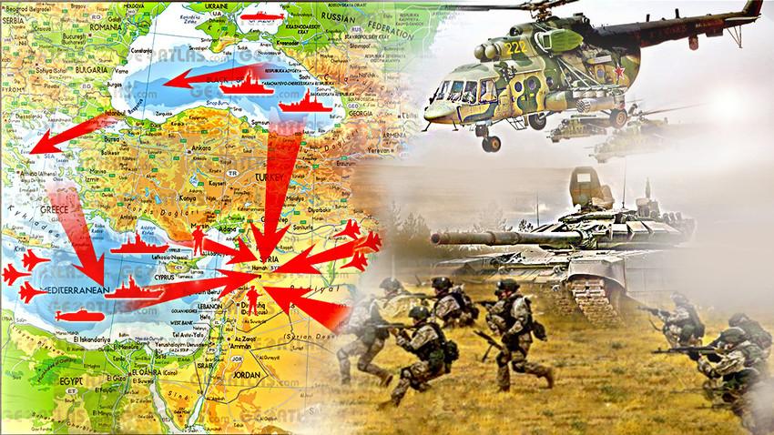 Руске базе: Хмејмим и Тартус за доминацију на Блиском истоку