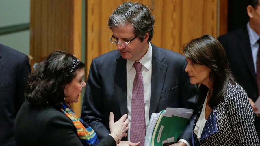 РТ: САД, Британија и Француска желе да УН подрже њихове илегалне нападе на Сирију