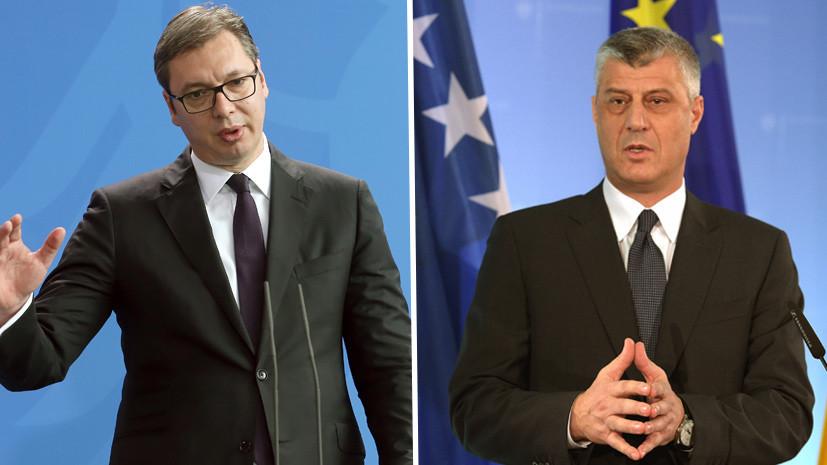 """RT: """"Sve je spremno za potpisivanje sporazuma"""": O čemu će Vučić i Tači razgovarati u Briselu"""