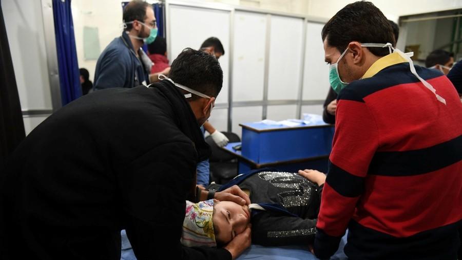 РТ: Још један хемијски напад у Сирији, али овај пут се западни медији не чују
