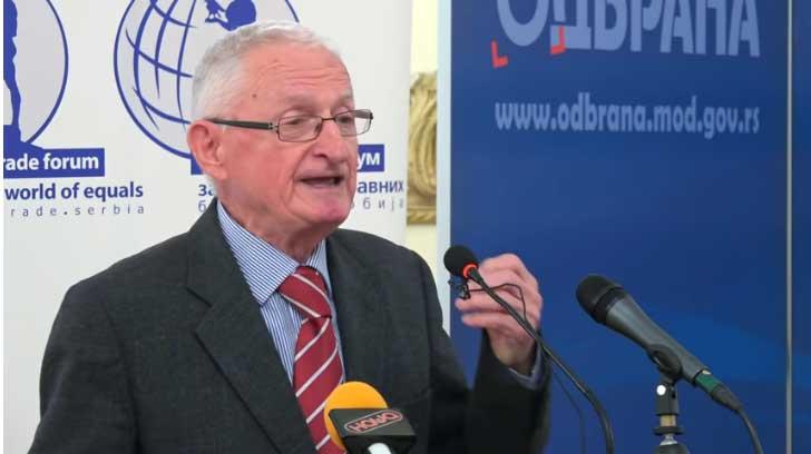 Živadin Jovanović: Rezolucija 1244. Ne mogu da vidim nikakvo opravdanje zašto Srbija ćuti?