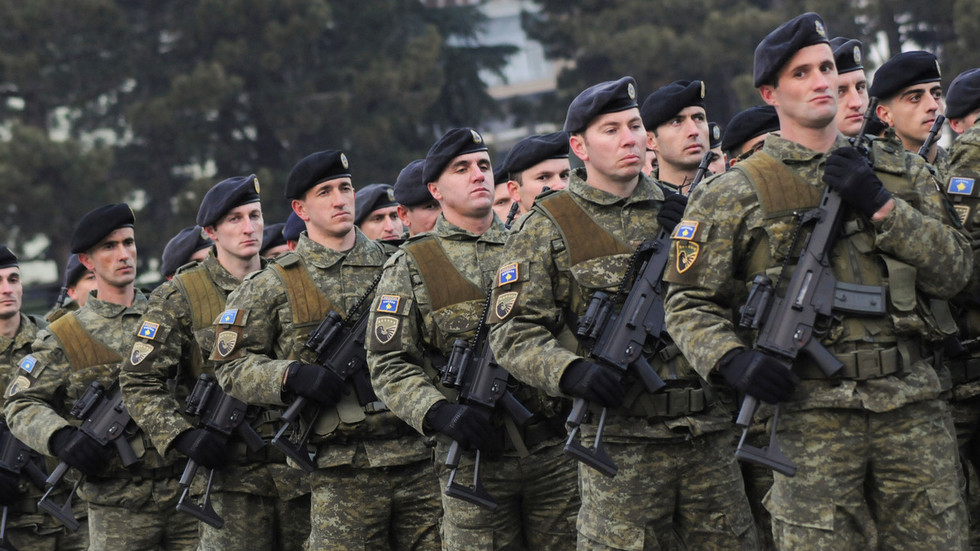 РТ: Косовска војска под покровитељством САД: