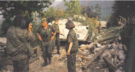 """Операција """"Криваја 95"""" - излагање команданта 2. романијске бригаде Мирка Тривића"""