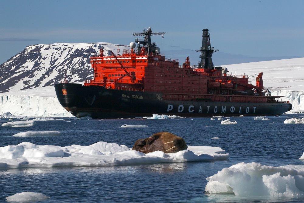 РТ: Велика игра на Арктику: САД планирају војну луку како би се супротставиле Русији и Кини