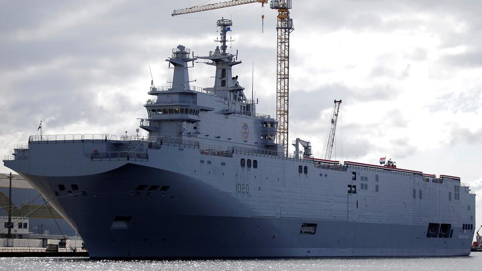 """РТ: Сећате се како је Француска одбила да испоручи Русији """"мистрале"""" због Крима? Сада Русија прави сопствене на Криму"""