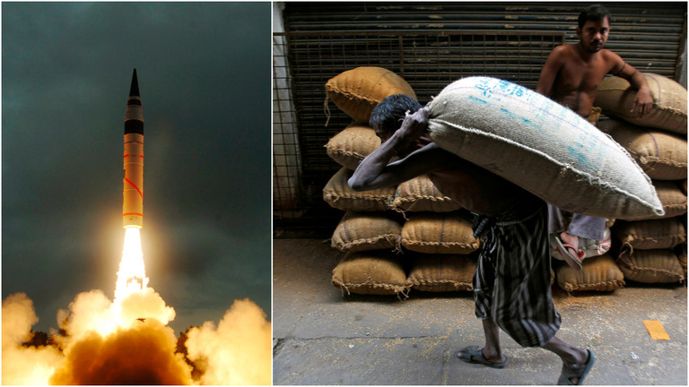 """РТ: Чак би и """"мали"""" нуклеарни рат између Индије и Пакистана уништио глобално снабдевање храном - студија"""