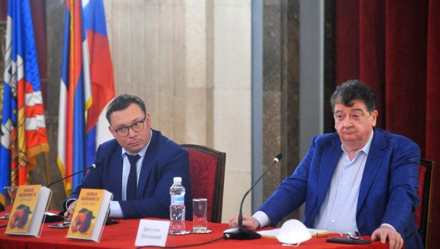 """Prijateljstvo Srbije i Rusije: Predstavljen zbornik tekstova """"Zapisi balkanista"""""""