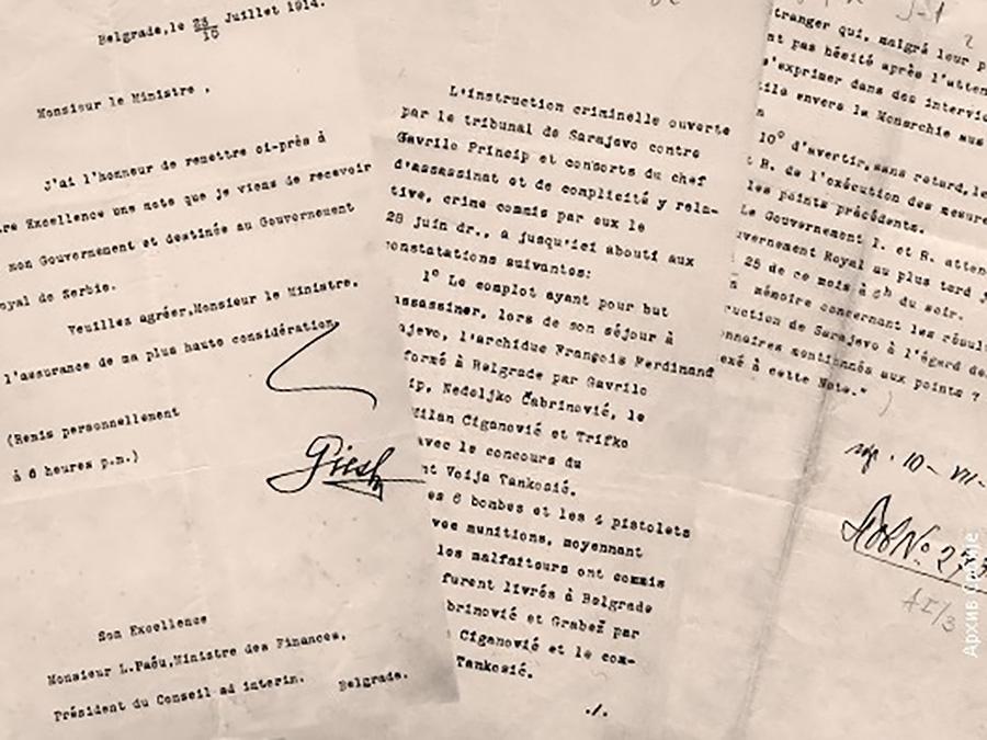 """Павић: """"Инцков закон"""" је као ултиматум Беча Србији 1914. – Срби да одговоре тврдо али са стишаним емоцијама"""
