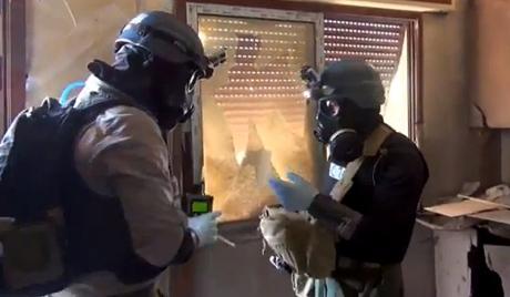 Инспектори УН се боје снајпериста у Сирији
