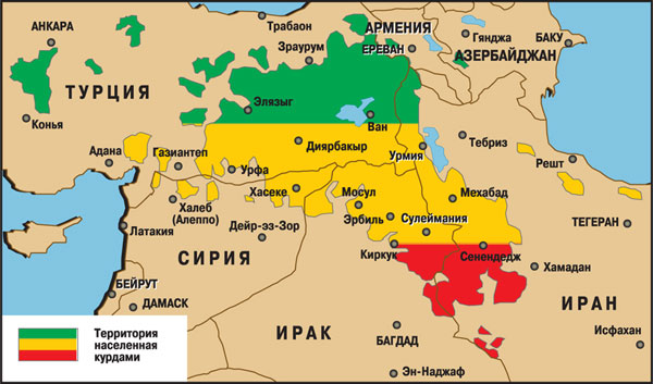 Подршка Курдима од стране САД може претити целовитости Сирије